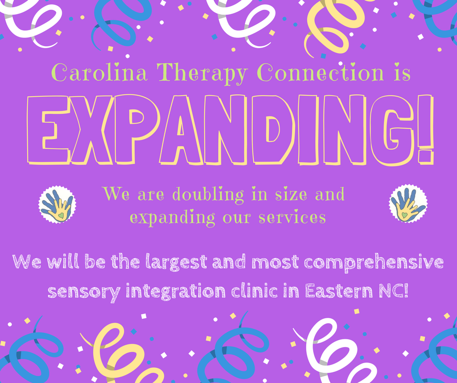 Carolina Therapy Connection is Expanding!
